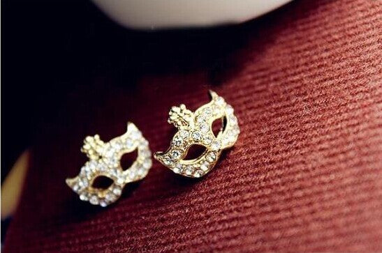 """Masquerade"" Studded Earings"