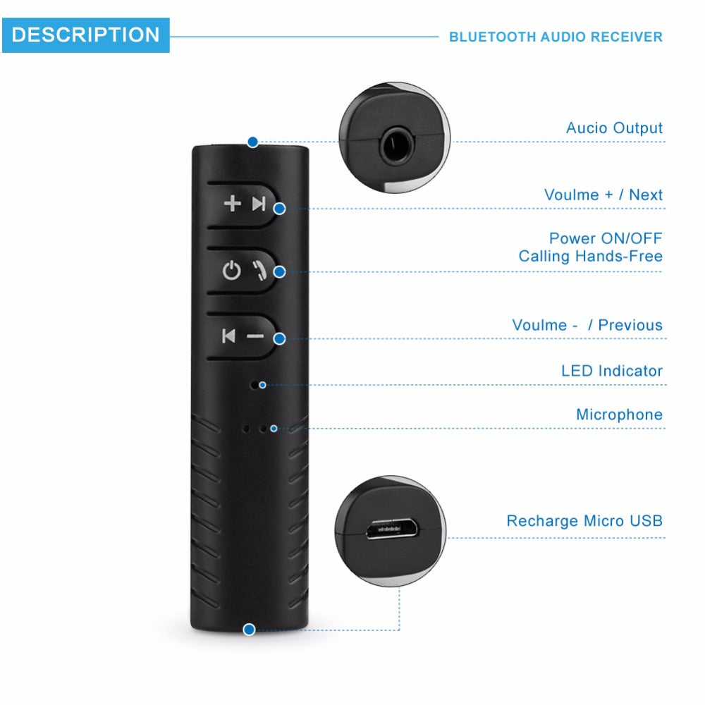 The BluetoothBro - Turn Anything With An AUX Jack Into A Bluetooth Speaker!