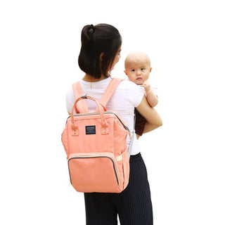 """Mommy Backpack"" Universal Childcare Bag"