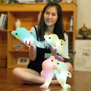 Glowing Dolphin LED Plush Toy