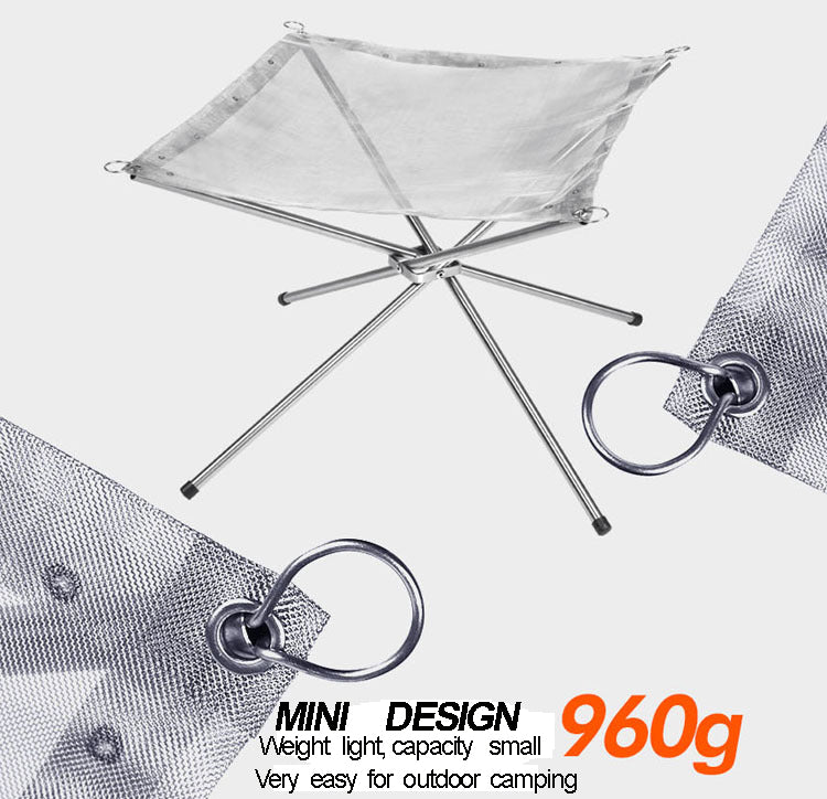 Portable Stainless Steel Fire Hammock