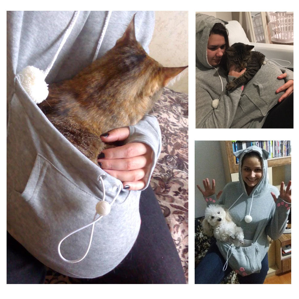 """Paw Pouch"" Hoodie"