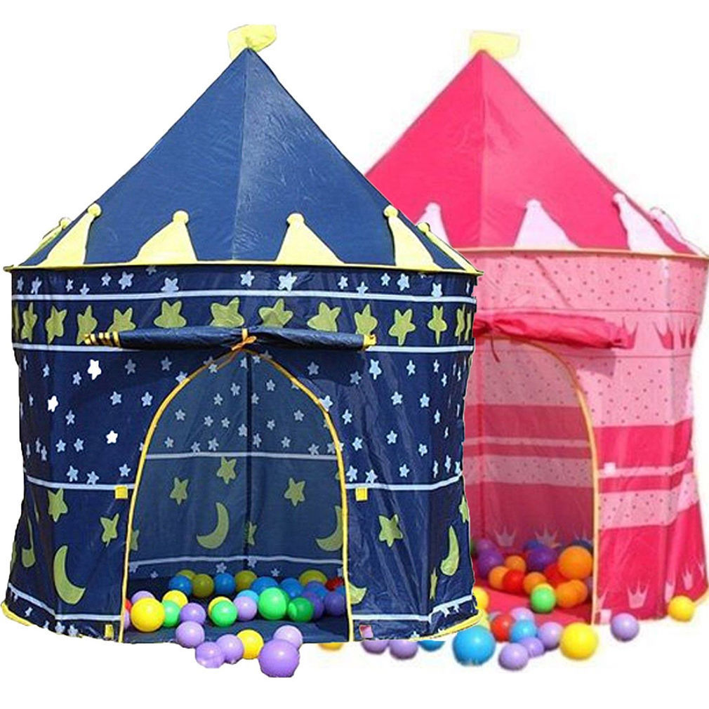 3 Color Pop Up Play Castles