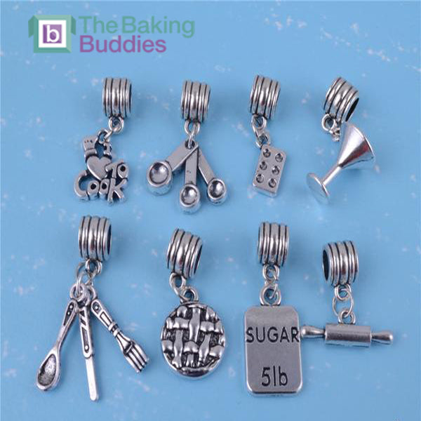 Unique Baking Lover Charms - The Baking Buddies