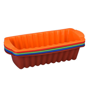 Big Silicone Rectangle Non Stick Bread Loaf Cake Baking Pan - The Baking Buddies