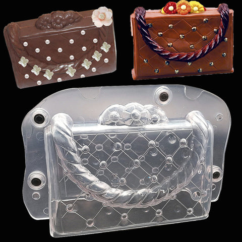 Large 3D Womens Bag Mold Tool With Magnet - The Baking Buddies