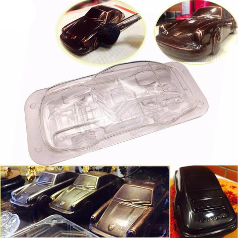 3D Stunning Porscha Car Mold - The Baking Buddies