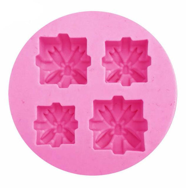Christmas Themed Silicone Cake Cake Decorating Mold Tools - The Baking Buddies
