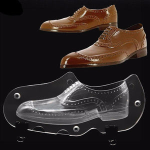 3D Men's Leather Shoe Plastic Mold - The Baking Buddies