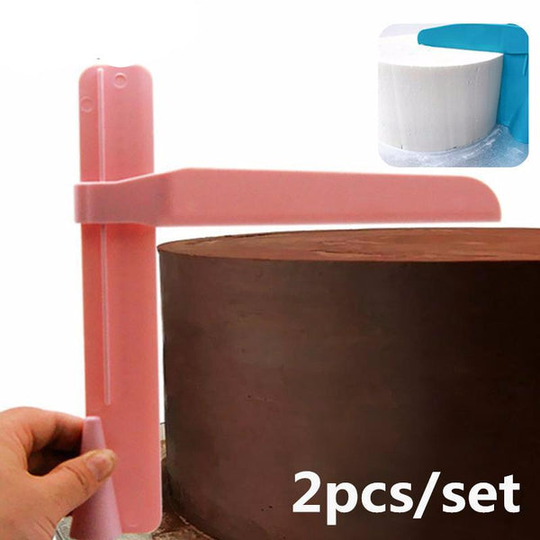 Adjustable Cake Scraper Icing Smoothing Tool - The Baking Buddies