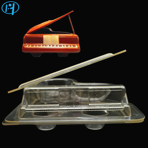 3D Piano Chocolate Cake Decorating molds