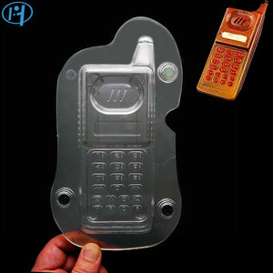 3D Mobile Phone Chocolate Mold For Cake Decorating