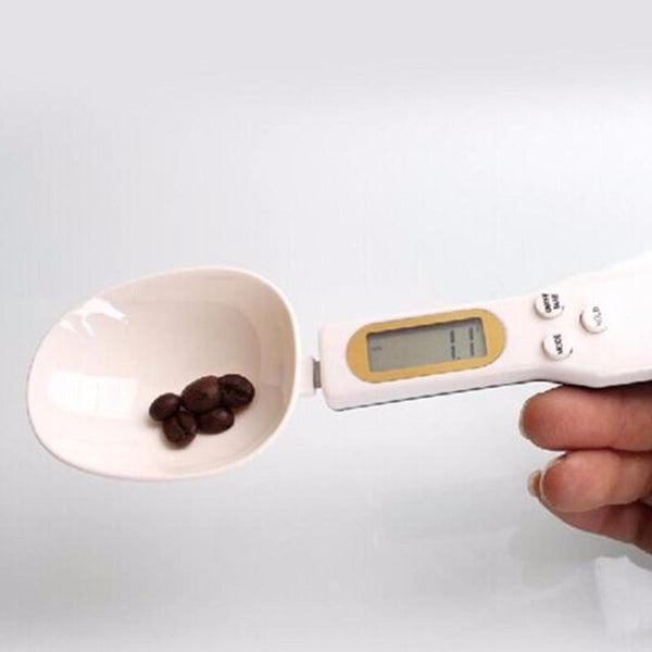 Digital Measuring Spoon & Scale with  LCD Screen - The Baking Buddies