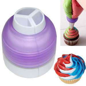 Beautiful 3 Color icing Coupler  Tool