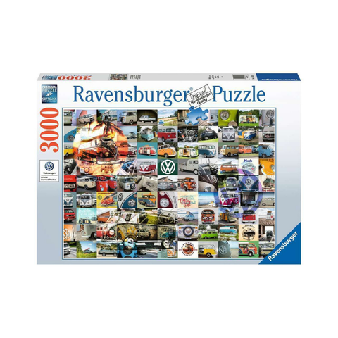 Ravensburger - 99 VW Bulli Moments 3000pc