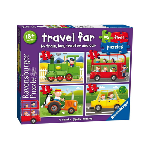 Ravensburger - My First Puzzles - Travel Far