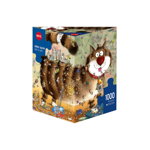Heye - Marino Degano - Cat's Life 1000pc