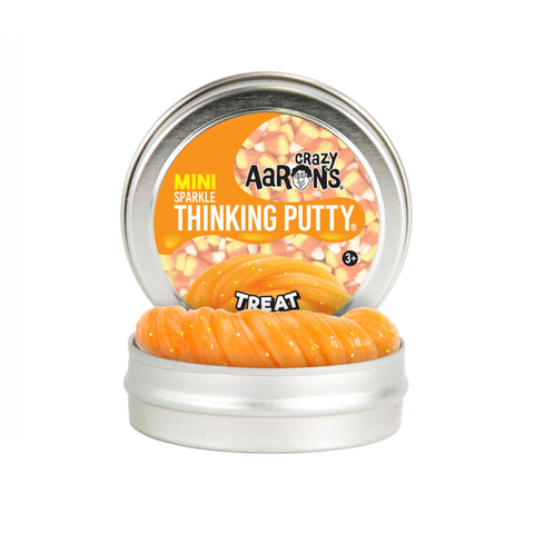 "Crazy Aaron's - Mini Sparkle Thinking Putty (2"" Tin) - Treat"