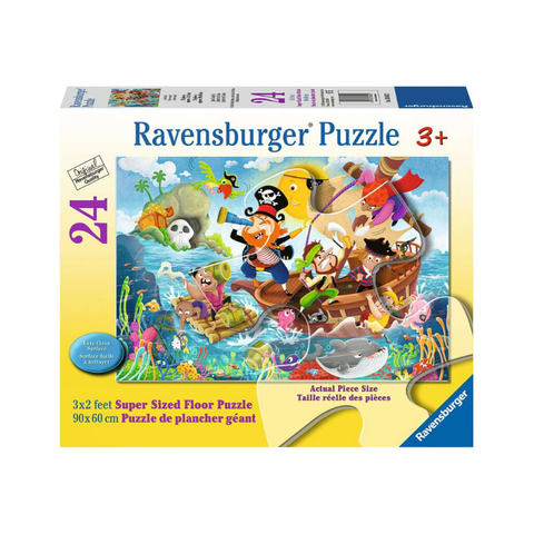 Ravensburger - Super Sized Floor Puzzle - Land Ahoy! 24pc