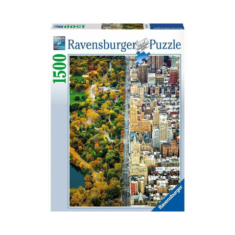 Ravensburger - Divided Town 1500pc