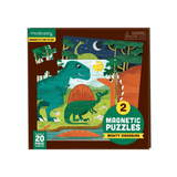 Mudpuppy - Magnetic Puzzles - Mighty Dinosaurs 2 x 20pc