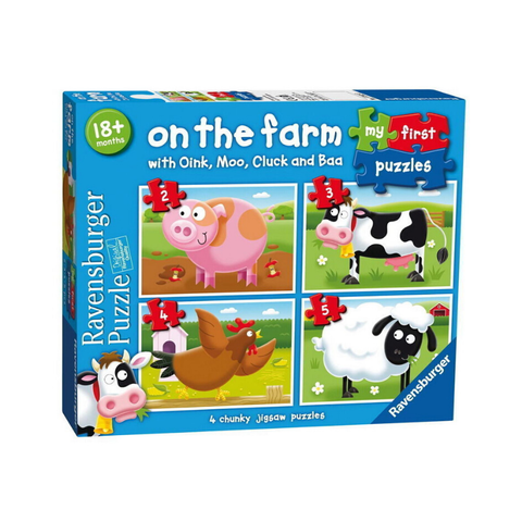 Ravensburger - My First Puzzles - On the Farm