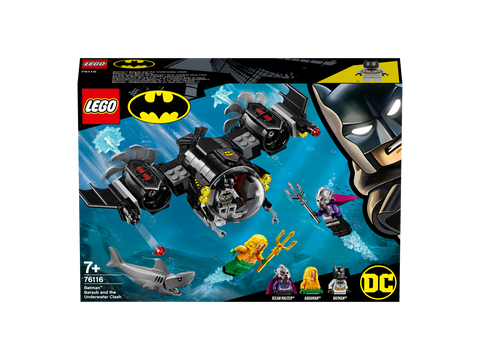 LEGO® - DC Super Heroes - Batman™ Batsub and the Underwater Clash