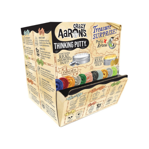 "Crazy Aaron's - Mini Treasure Surprise Thinking Putty (2"" Tin)"
