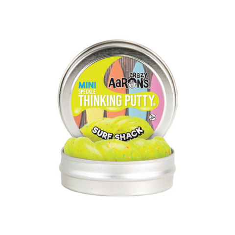 "Crazy Aaron's - Mini Speckle Thinking Putty (2"" Tin) - Surf Shack"