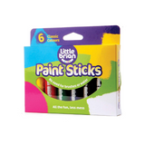 Little Brian Paint Sticks - 6 Classic Colours