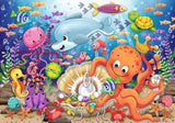 Ravensburger - Super Sized Floor Puzzle - Fishie's Friend 24pc