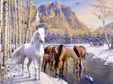 Ravensburger - Winter Horses 200pc