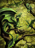 Ravensburger - Age of Dragons by Anne Stokes - Forest Dragon 500pc