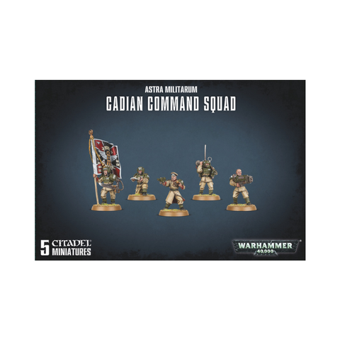 Warhammer 40,000: Astra Militarum Cadian Command Squad