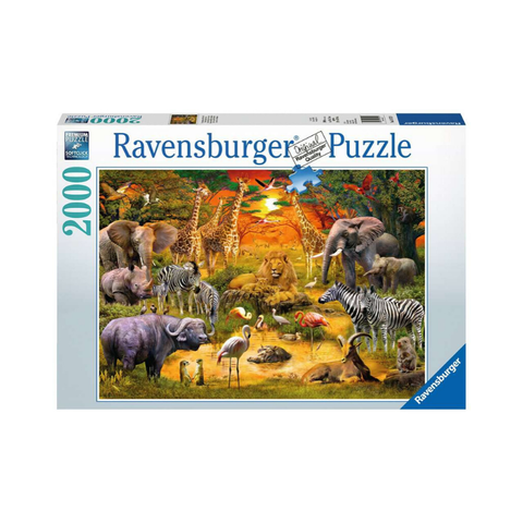 Ravensburger - Gathering at the Waterhole 2000pc