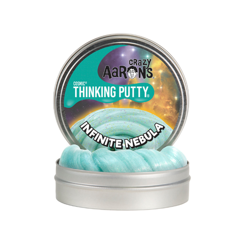 "Crazy Aaron's - Cosmic Thinking Putty (4"" Tin) - Infinate Nebula"