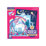 Mudpuppy - Magnetic Puzzles - Magical Unicorn 2 x 20pc