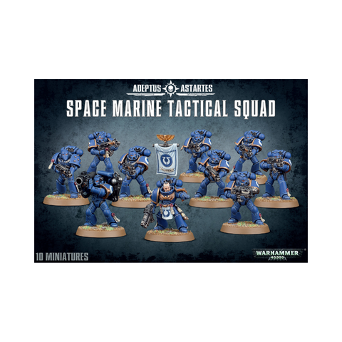 Warhammer 40,000: Adeptus Astartes - Space Marine Tactical Squad