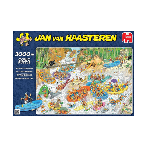 Jumbo -Jan Van Haasteren - Wild Water Rafting 3000pc