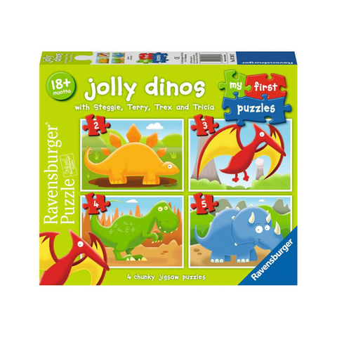 Ravensburger - My First Puzzles - Jolly Dinosaurs
