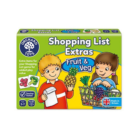 Orchard Toys - Shopping List Extras - Fruit & Veg