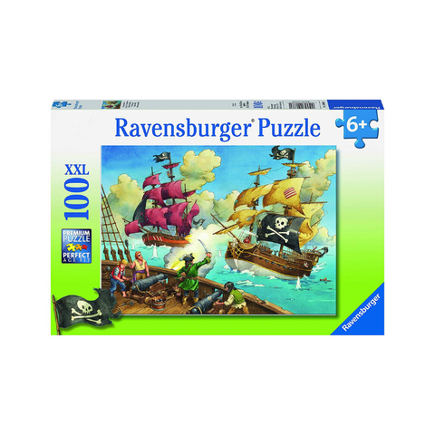 Ravensburger - Pirate Battle 100pc