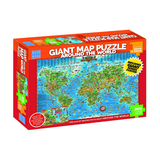 Blue Opal - Around the World Giant Map Puzzle 300pc