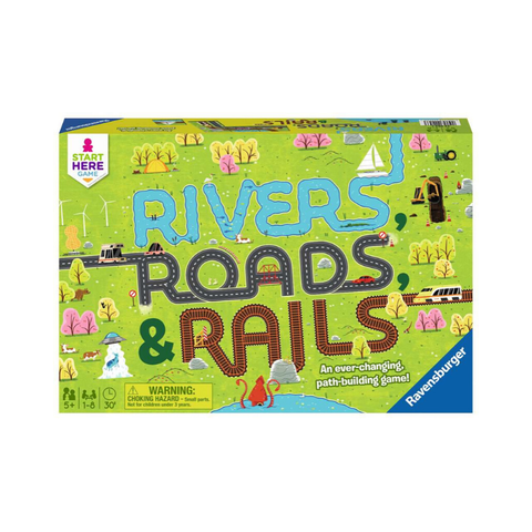 Ravensburger - Rivers, Roads, & Rails