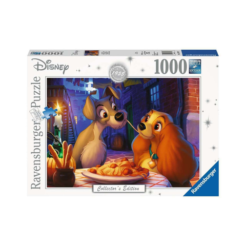 Ravensburger - Disney Collector's Edition 1955 Lady & the Tramp 1000pc