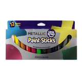 Little Brian Paint Sticks - 12 Metallic Colours