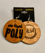 Sun Kissed Poly Earrings- 2 Inch