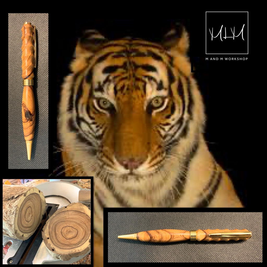 Tiger Stripes Pen
