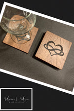 Infinite Love Coasters - M and M Workshop
