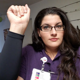 Arizona Nurse Covers Up Tattoos